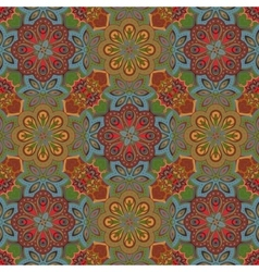 Seamless colorful pattern in oriental style Islam vector image vector image