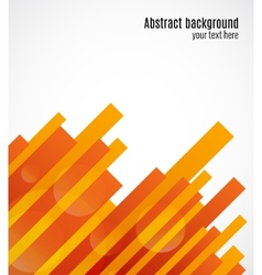 Abstract decorative geometric background vector image vector image