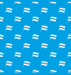 egyptian flag pattern seamless blue vector image vector image