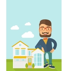 Agent poses for use in advertising vector