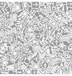 Background of arrows6 vector image