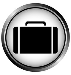 button with a portfolio vector image