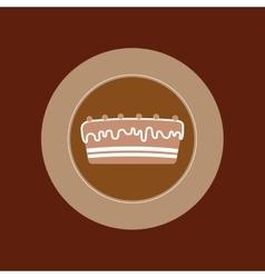 Delicious Cake and dessert vector