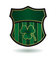 Irish Emblem vector image