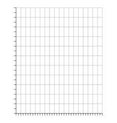 Ratings line graph line chart graph paper printa vector