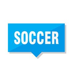 soccer price tag vector image