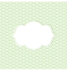 The retro frame vector image vector image