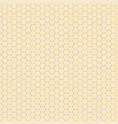 abstract yellow hexagon pattern background vector image