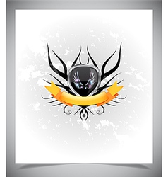 Abstraction light background with wings vector image