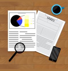 Analytics taxation vector