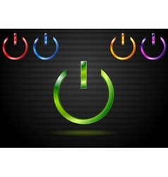 Power website elements vector