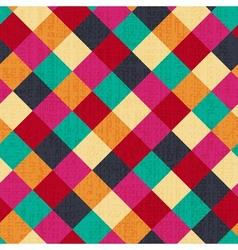 seamless geometric rhombus background vector image