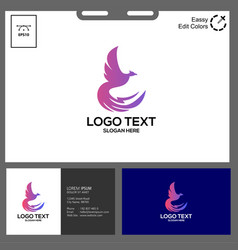 Simple concept phonic logo vector