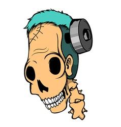 Franken Smile vector image