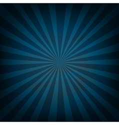 Retro Vintage Square Blue Sunburst vector image
