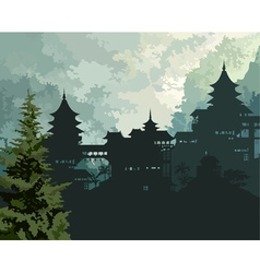 background China vector image
