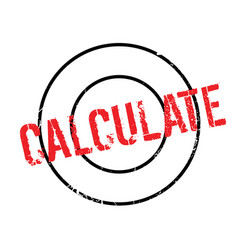 Calculate rubber stamp vector