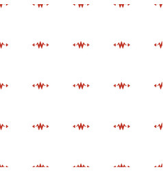 Electricity icon pattern seamless white background vector