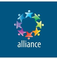 Human Alliance logo vector image