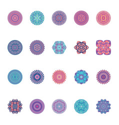 Mandalas ornament image vector