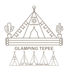 Tepee in linear vector