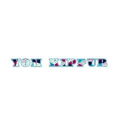 Yom kippur concept word art vector