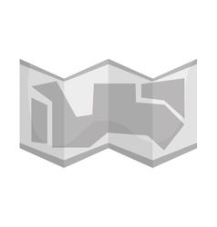construction blueprint icon vector image