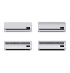 air conditioner indoor unit vector image