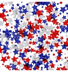 Background decorated with texture stars vector