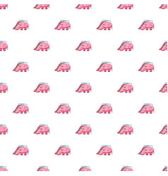 childrens slide elephant pattern vector image