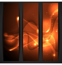 Gold Abstract Banner vector image