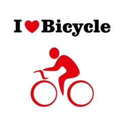 ILBicycle vector image
