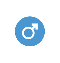 male gender icon graphic design template vector image