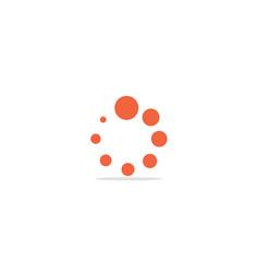 Round circle orbit logo vector