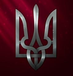 Ukraine coat arms vector