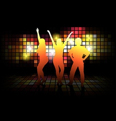 Dancing Silhouettes vector image