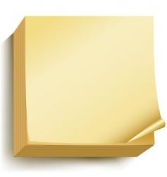 note block vector image vector image
