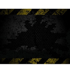 grungy background texture of an old brick wall vector image
