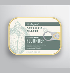 Abstract ocean flat fish fillets aluminium vector
