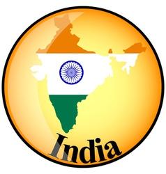 Button India vector