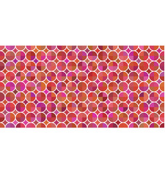 colorful seamless pattern 60s style vector image
