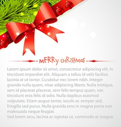 Merry christas background vector