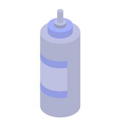 paint spray bottle icon isometric style vector image