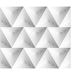 Seamless pattern with grayscale triangles art vector