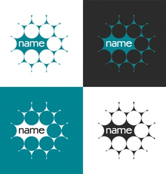 science logo vector image