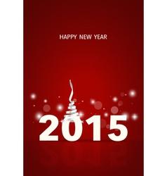 2015 happy new year vector