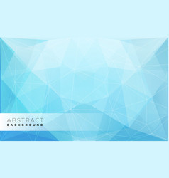 Abstract modern triangle polygonal background vector