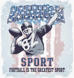 American sport football vector