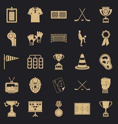 Bounty icons set cartoon style vector