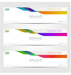 Bundle horizontal sale banner sale vector